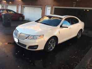 2009 LINCOLN MKS PEARL FULLY LOADED V6 FWD BLUETOOTH